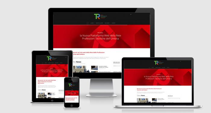 progetto per il nuovo sito web